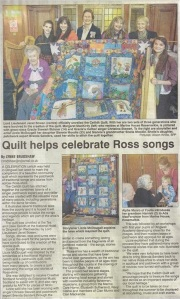 Ross-Shire Story Quilt
